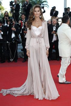 Izabel Goulart in Ralph and Russo, Cannes Film Festival Fashion 2016
