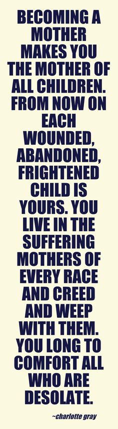 Motherhood. Oh how true this is.