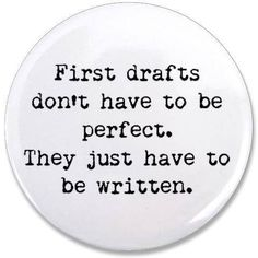I always have to remind myself about this everytime I try to write something.