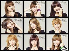 Nama-nama anggota Cherrybelle chibi