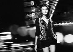 Zara TRF Fall/Winter 2012. Model: Cara Delevingne Photography: David Sims