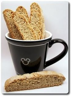 Cardamom Biscotti (Adapted from Martha Stewart) cup all-purpose flour cup whole-wheat pastry flour 3 ounces sliced almonds, gro. Brownie Recipes, Candy Recipes, Sweet Recipes, Baking Recipes, Sweet Desserts, Healthy Desserts, Yummy Treats, Sweet Treats, Coffee Bread
