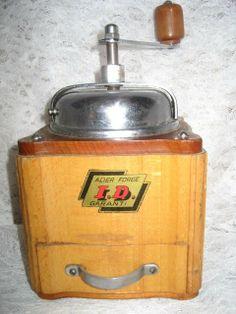 moulin à café ID acier fer forgé garanti