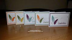 Papier und Stempelzauber: Geburtstagskarten