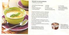 RUOKAA58: Bataatti-savujuustokeitto Cantaloupe, Fruit, Food, Essen, Meals, Yemek, Eten