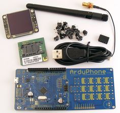 ArduPhone Arduino Compatible Cellphone | Freetronics