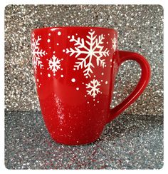 Hey, I found this really awesome Etsy listing at https://www.etsy.com/listing/212759182/christmas-special-red-snowflake-coffee