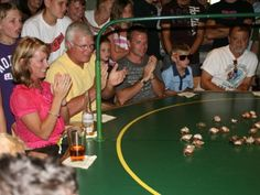 Crow's Nest on Captiva Island hosts the NASCRAB crab races every Monday and Thursday.