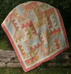 Spare Key Quilt - Jelly Roll  - via @Craftsy