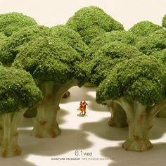 Miniature dioramas by Japanese artist, Tatsuya Tanaka. He has been making one every day since 2011 for his Miniature Calendar, and they're all wonderful. Miniature Photography, Toys Photography, Creative Photography, Photoshop Photography, Kumamoto, Natur Wallpaper, Foto Macro, Miniature Calendar, Art Du Monde