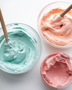 Swiss Meringue Buttercream | Martha Stewart - This all-purpose buttercream has an ultra-silky, stable texture that spreads beautifully over cakes and cupcakes, and can be piped into perfect peaks and patterns. #dessert #bakeoff #piping
