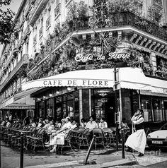 """Paname Paris on Twitter: """"Cyril Jayant Café de Flore… """""""
