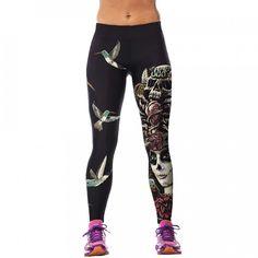Stylové dámské sportovní fitness legíny – SLEVA 60% A POŠTOVNÉ ZDARMA Na  tento produkt se 96cf2224ef