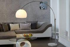 """Bogenleuchte LOUNGE DEAL weiß Marmorfuß ausziehbar 185-205cm mit Dimmfunktion Bogenlampe - Unsere """"LOUNGE DEAL"""" ist der Designklassiker unter den Lampen, mit einem traumhaften Anblick in weiß. Die Kom"""