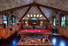 Man-Caves-Are-A-Great-Place-To-Take-It-Easy-After-A-Long-Day18 Man Cave Design Ideas and Furniture