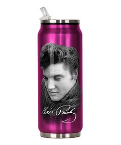 Spoontiques Elvis Stainless Steel Can: 12 ounce capacity Has a flip top spout Twist off top for easy filling Gift For Music Lover, Music Lovers, Unusual Gifts, Elvis Presley, Rock N Roll, Water Bottle, Stainless Steel, Canning, Cool Stuff