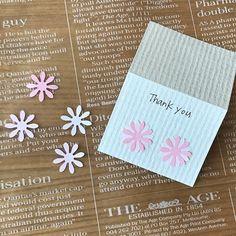お花のパンチで可愛いカード作り|LIMIA (リミア)