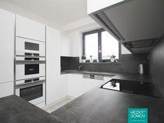 Moderní kuchyně - bílá a šedá