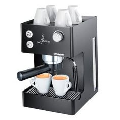 Espresso machines can seem like quite an expense in the beginning.  However, if you're like me and visit coffee shops often, you will quickly make your money back by making them from home.  And eventually start saving money as well.