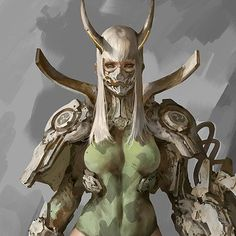 The Twelve, Puppeteer Lee Female Character Design, Character Design Inspiration, Character Concept, Character Art, Cyberpunk Girl, Arte Cyberpunk, Dark Fantasy Art, Fantasy Girl, Elves Fantasy