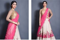 Luscious colors with embroidery #wedding #lehenga #Indian bridal wear