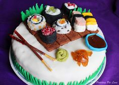 Pudding Pie Lane: Sushi Cake!