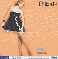 A special treat for all Dillard's Cardholders: Save an extra 30-40% off all permanently reduced items, with card only!