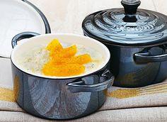 www.rustica.fr - Minicocotte de riz au lait à l'orange
