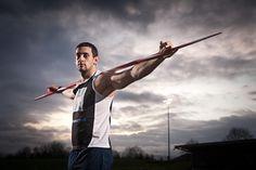 Scott Moorhouse - Paralympic Javelin Thrower by Daniel Lewis, via 500px