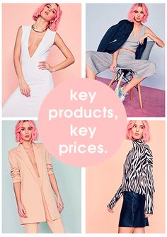 Missguided US: Women's Clothes Campaign Fashion, Fashion Catalogue, Instagram Story Template, Instagram Story Ideas, Gif Fashion, Email Design Inspiration, Newsletter Design, Online Clothing Stores, Instagram Fashion