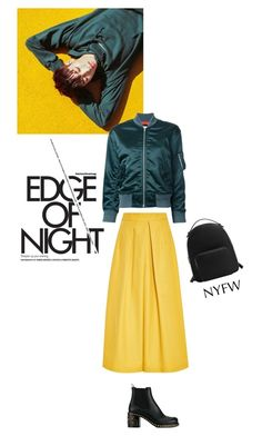 """""""Check In..."""" by lydiarts ❤ liked on Polyvore featuring Tome, En Route, Miu Miu and MANGO"""