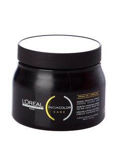L'Oreal INOA Color Care Protective Conditioning Masque With Argan Oil Green Tea (16.9 oz.) by L'Oreal Paris *** This is an Amazon Affiliate link. You can find more details by visiting the image link.