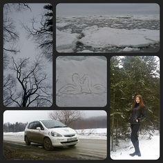 """#sea#ice#swans#forest#snow#trees#car#Honda_Fit#Honda_Jazz#Cityofangel#girl#I#beauty#Nature#Sakhalin#море#лед#лес#деревья#снег#лебеди#машина#ХондаФит#танчик#чумазик#девушка#я#природа#красота#Сахалин❄"" Photo taken by @ulchonochka on Instagram, pinned via the InstaPin iOS App! http://www.instapinapp.com (03/29/2015)"