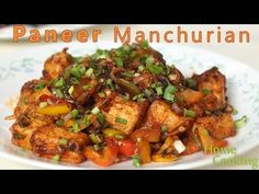 Paneer Manchurian Ingredients For Batter frying paneer cubes Paneer - 200 gms cut into cubes All purpose flour - 1/2 cup Rice flour - 1 tbsp Corn flour - 11/...
