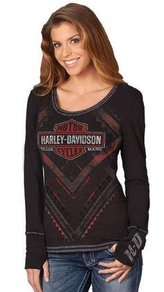 Harley-Davidson® Women's Shirt, Black