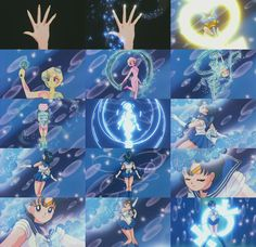 Sailor Mercury - Mercury Star Power, Make Up! (Season 2 - Sailor Moon R transformation)