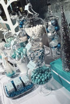 "Photo 13 of 14: winter wonderland / Christmas/Holiday ""Silver & Blue Christmas"" 