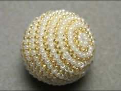 DIY Beaded Crochet Ball TUTORIAL Part 1/3 - YouTube