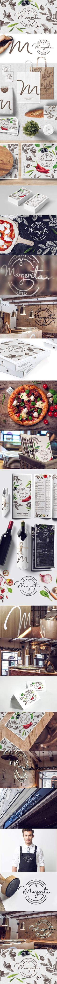MARGERITA pizza&restaurant on Behance