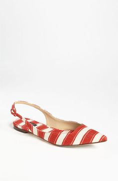 Dolce Stripe Flat | Nordstrom  (so cute.  Price tag...not so much!)