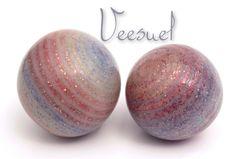 Perles Vortex Givre Multicolores