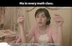 im pretty good at math.. its more like English lol