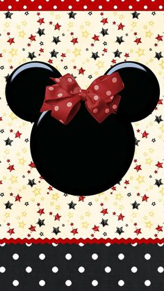 ❤ Minnie Mouse....Although not a huge Minnie Fan, this would be cute on my phone