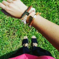 Mis pulseras artesanales!