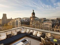 Luxury hotel chain Mandarin Oriental opened the doors of a new hotel in Barcelona, Spain in 2010 with interiors by Patricia Urquiola and architecture by Barcelona Hotels, Barcelona Spain, Barcelona Accommodation, Barcelona City, Barcelona Travel, Patricia Urquiola, Mandarin Oriental, Urban Deco, Outdoor Spaces