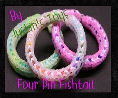 Four Pin Framed Fishtail Bracelet by Justin's Toys