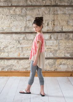 5Junes - American-made clothes for tween girls | Allison Top, Coral $33