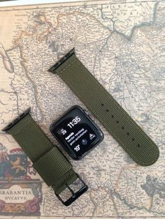 Apple watch original series 1 series 2 band: Nato 2-piece by STRPS