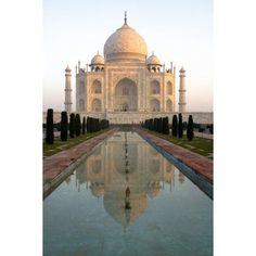 Posterazzi Agra India Exterior Of The Taj Mahal Canvas Art - David DuChemin Design Pics (24 x 38)