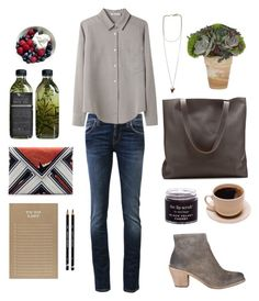 """""""Untitled #263"""" by the59thstreetbridge ❤ liked on Polyvore featuring Nudie Jeans Co., T By Alexander Wang, Givenchy, AllSaints, Zara and Sugar Paper"""